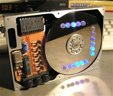 avrprojects home avr based binary clock on an old harddisk eeweb community