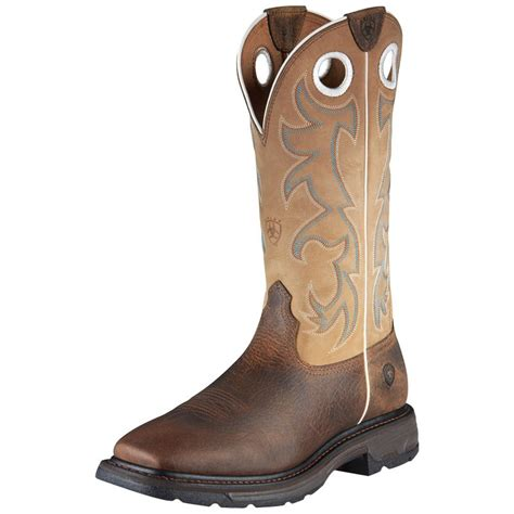 shop s ariat work hog earth steel toe work boots