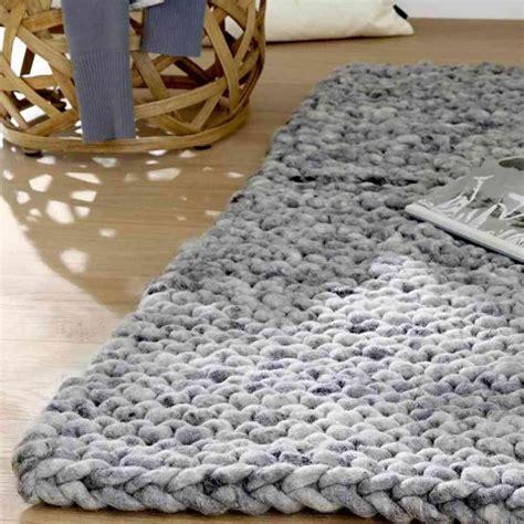 teppiche selber stricken mesh made de strick kit arazzo zum selber stricken