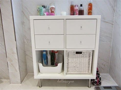 Ikea Kallax Badezimmer by Helloissyxo New Bathroom Storage Ikea Kallax Billy