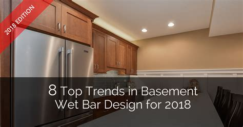 Remodeling A Bathroom Ideas by 8 Top Trends In Basement Wet Bar Design For 2018 Home