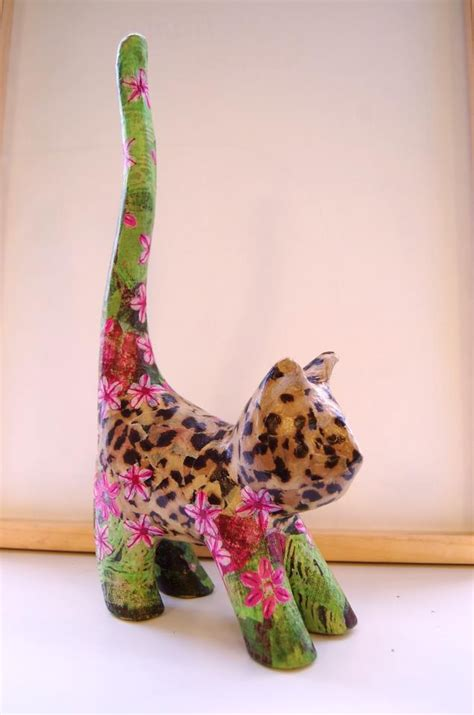 Papier Mache Animals For Decoupage - country crafts decopatch events chats