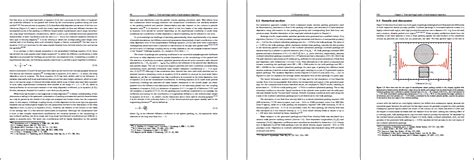 latex book layout exle page layout thesis in latex
