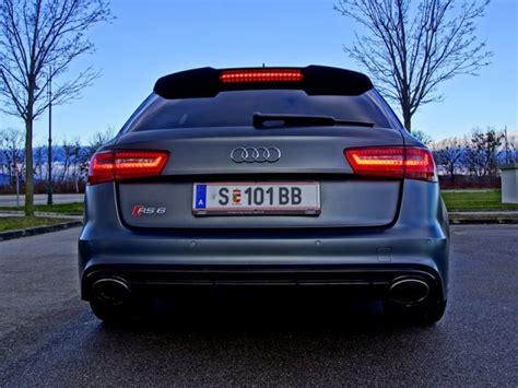 Audi Rs6 Verbrauch by Audi Rs6 Avant Testbericht Luxuskombi Mit 560 Ps