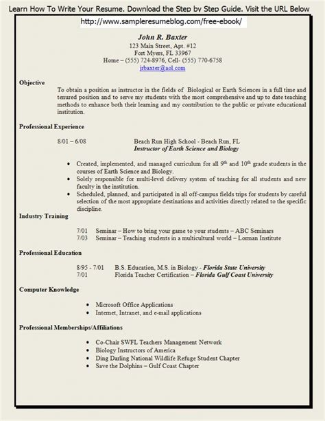career objective for freshers engineers resume resume for your