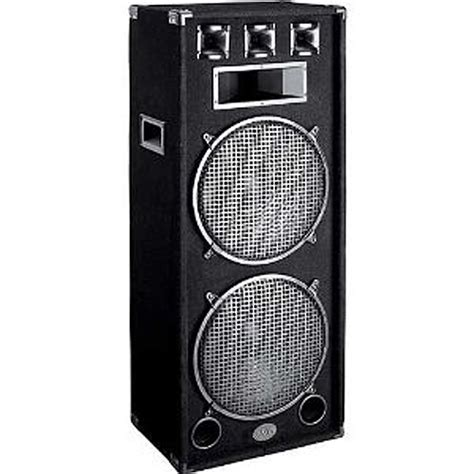 Speaker Toa 15 Watt 1500 watt dual 15 quot 3 way speaker v3000 low priced dj