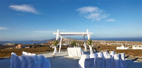 Wedding Blessing Santorini by Location Antonio Vineyard Weddings Santorini