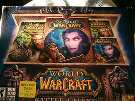 Pc Original World Of Warcraft Battle Chest 1 world of warcraft battle chest burning crusade two