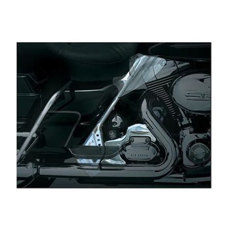 chrome zoom kuryakyn mid frame covers for harley touring 2009 2013