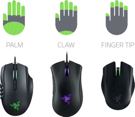 most comfortable gaming mouse razer gaming mice ergonomic mice ambidextrous mice