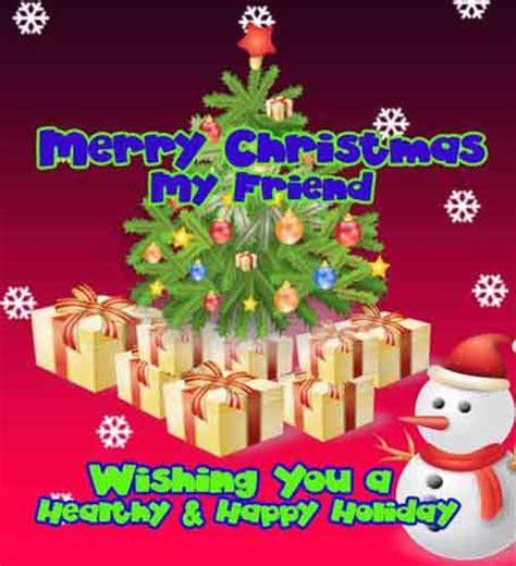 friendly christmas    friend  friends ecards