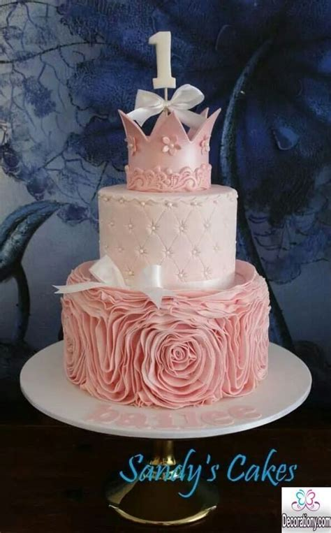 Unique Bathroom Decorating Ideas by 15 Sweet 1st Birthday Cakes For Girls Decorationy