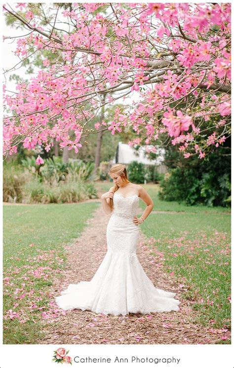usf botanical gardens bridal session charleston