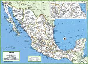 mexico map cities and states