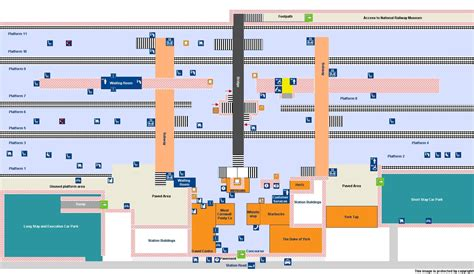 Layout York Train Station | national rail enquiries