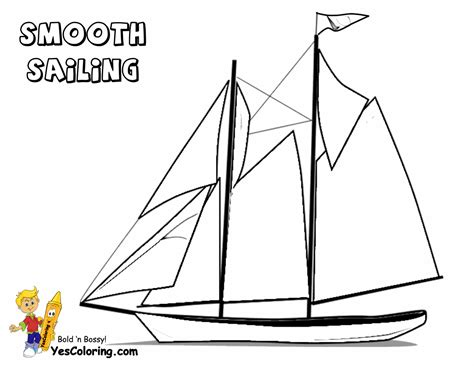 free coloring pages of ship