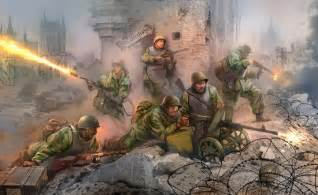 Color Washing Techniques - wwii soviet assault engineers dhcwargamesblog