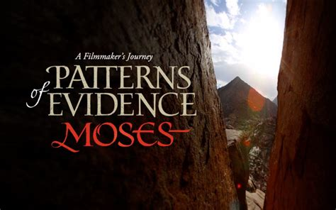 Pattern Of Evidence Trailer | patterns of evidence the exodus you never know where a