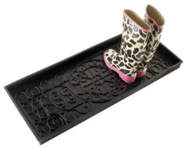 axis rubber boot tray shoe storage