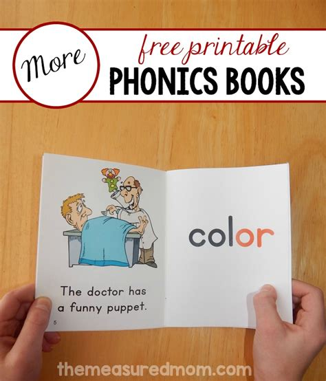 printable free books more free phonics books set 21 the measured mom