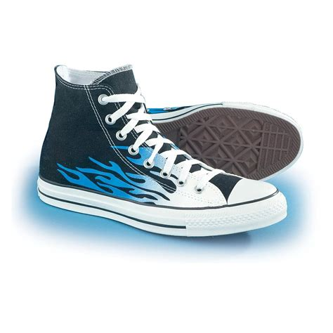 are converse running shoes s converse 174 all flames black blue 92071