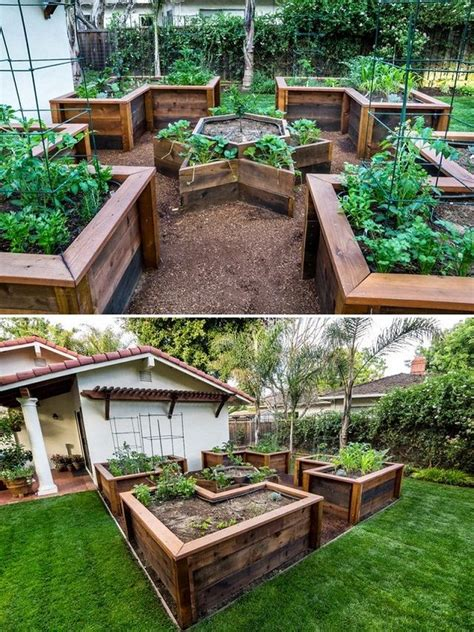 How To Build A U Shaped Raised Garden Bed 3 Design Worth Building Raised Vegetable Garden