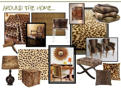 leopard print   living room  bedroom living