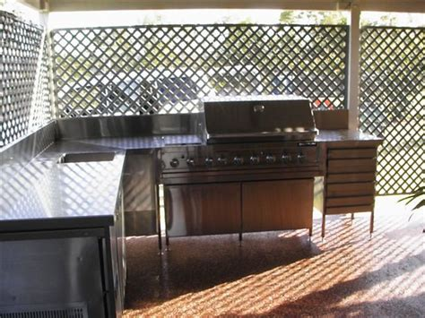 stainless steel bbq bench stainless steel benches stainless steel fabrication toowoomba metal fabrication