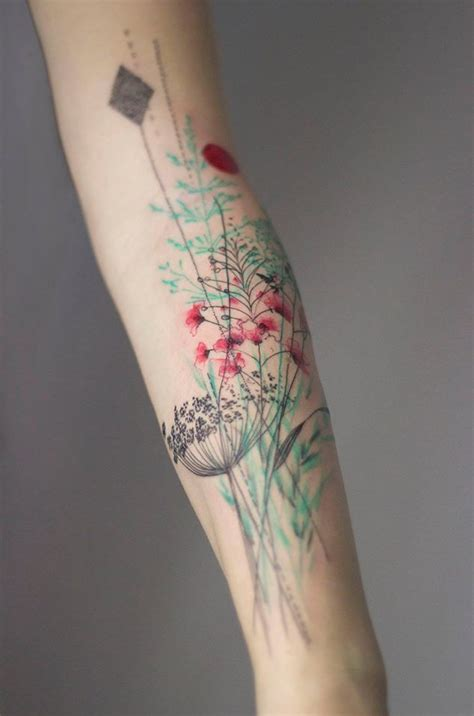 watercolor tattoo leipzig tatuajes que honran a la naturaleza