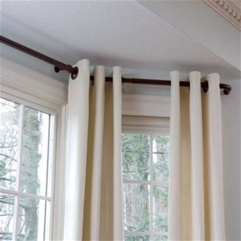 how to fix window curtain rods 25 best ideas about bay window treatments on pinterest