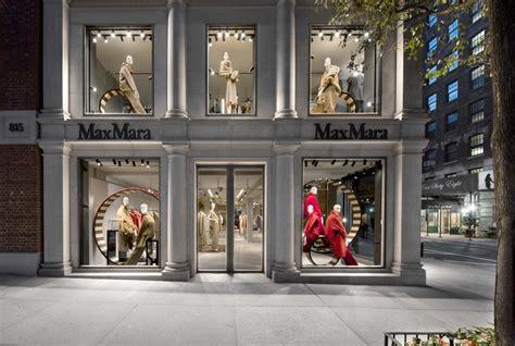 max mara  madison avenue  york shop  architect