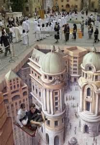 ilusiones opticas urbanas im 225 genes en 3d en las calles por el artista kurt wenner