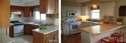 Cheap Kitchen Remodel Ideas Before And After by Graphic Made Kitchen Before Amp After