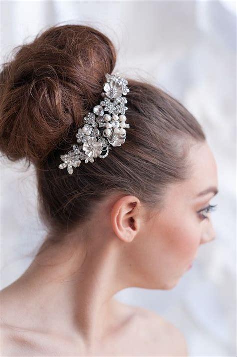 hair accessories for short hair on 36 year old woman tessa kim 2013 collection rhinestone hair clip wedding