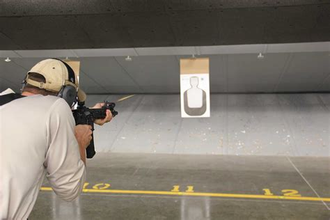 shooting on nw gun range open to enforcement trainees the collegian
