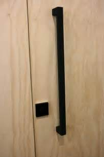 Kitchen Cupboard Interior Fittings matte black entry pull set 630 long the lock and handle