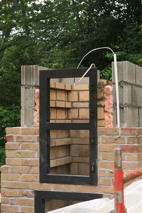 how to build a backyard smoker how to build a brick smoker home design garden