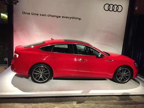 Audi S5 Sportback by 2018 Audi S5 Sportback Automotive Rhythms