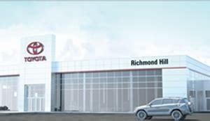 Richmond Toyota Dealership Richmond Hill Toyota Constructing Brand New Dealership
