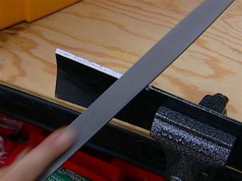 how to sharpen and care for your kitchen knives how to sharpen a lawnmower blade how tos diy