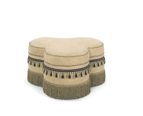 unusual ottomans unique leather ottoman with fringe leather ottomans and
