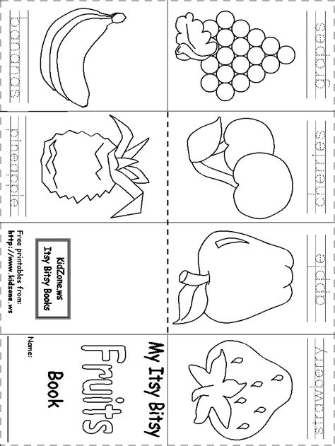 preschool printable activities uk itsy bitsy book fruit preschool activities pinterest