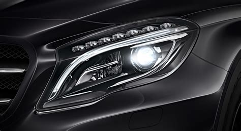 mercedes led headlights mercedes headlight options