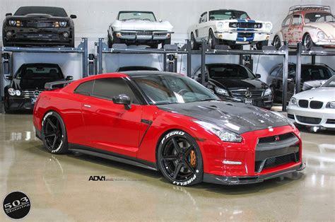 nissan gtr black edition blue red nissan gt r black edition adv5 track spec cs wheels