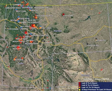 map of current wildfires maps of wildfires in the northwest u s wildfire today