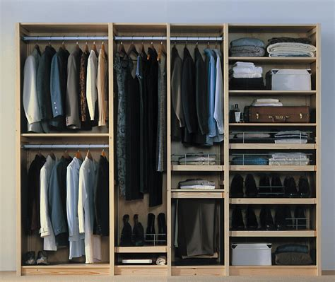 dressing wardrobe lundia le mobilier modulable dressing armoire