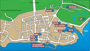 Plan d'accès à la résidence de l'Anse des Rochers Anse des rochers