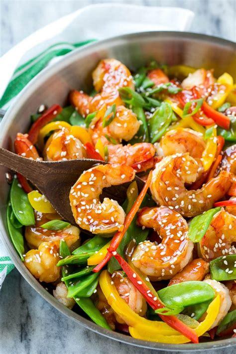 vegetables used in stir fry teriyaki shrimp stir fry dinner at the zoo