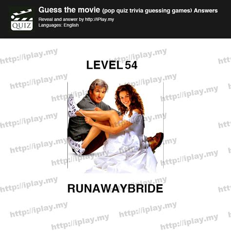 film quiz level 54 guess the movie pop quiz answers iplay my page 77