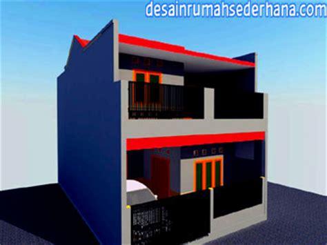 desain renovasi rumah type 21 2 lantai gambar a1